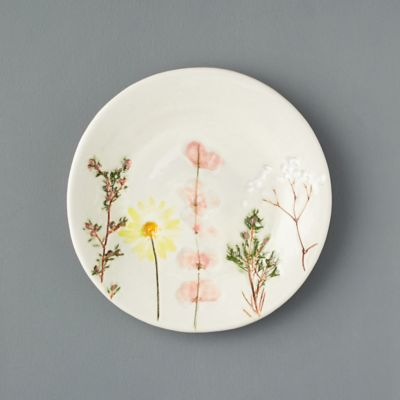 Meadow Flowers Ceramic Salad Plate
