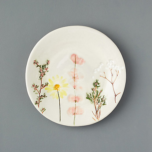 View larger image of Meadow Flowers Ceramic Salad Plate