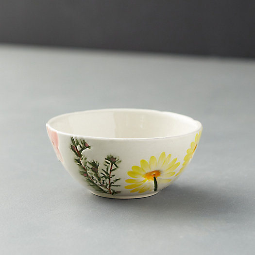 View larger image of Meadow Flowers Ceramic Bowl