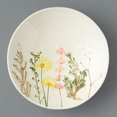 Meadow Flowers Ceramic Serving Bowl