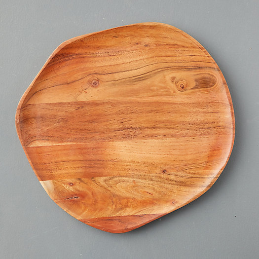 View larger image of Wood Grain Dinner Plate