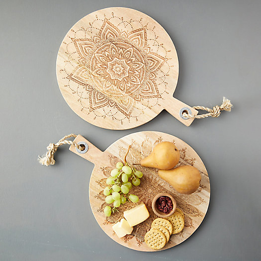 View larger image of Etched Wood Cutting Board