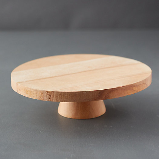 View larger image of Wood Cake Stand