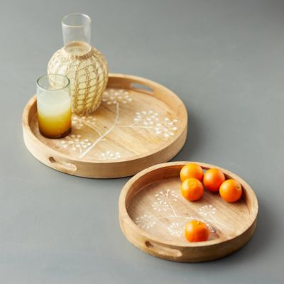 Allium Wood Tray