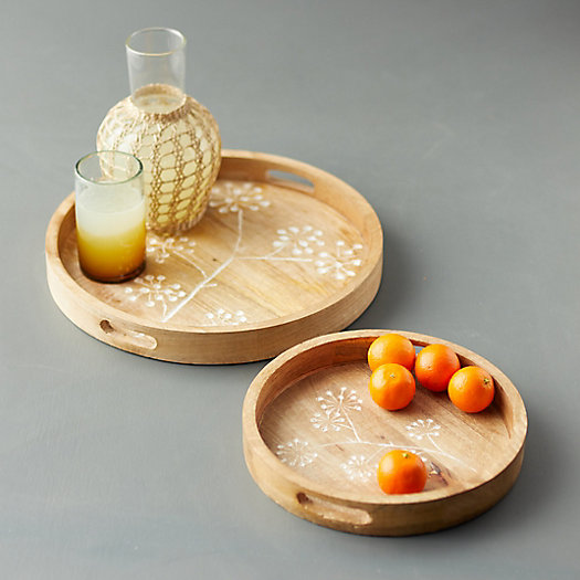 View larger image of Allium Wood Tray