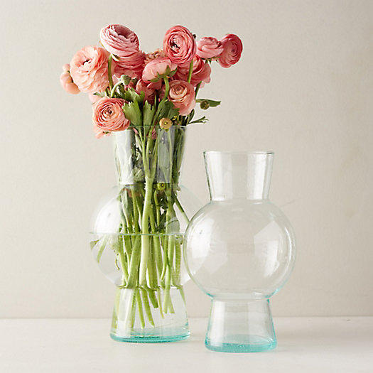 View larger image of Recycled Glass Bubble Vase