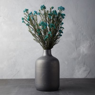 Preserved Rice Flower Bunch, Blue