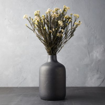 Preserved Rice Flower Bunch, White