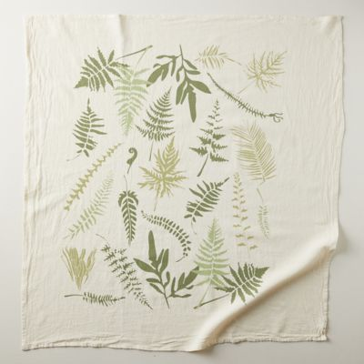 Endangered Ferns Dish Towel