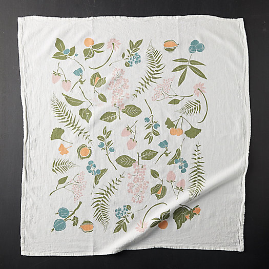 View larger image of Wild Berries + Nuts Dish Towel