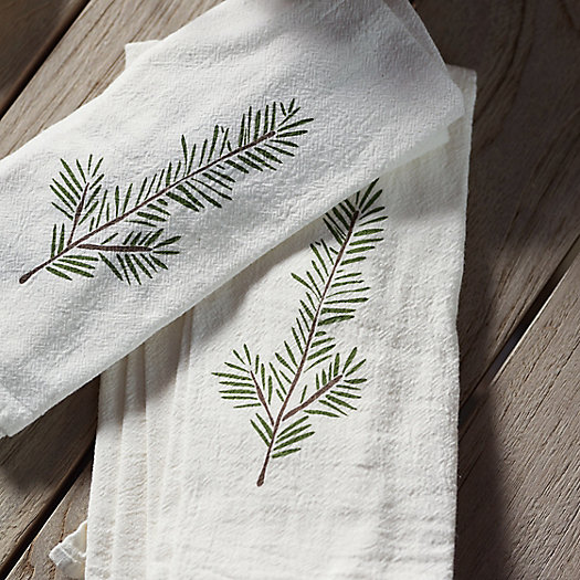 View larger image of Winter Greens Napkins, Set of 4
