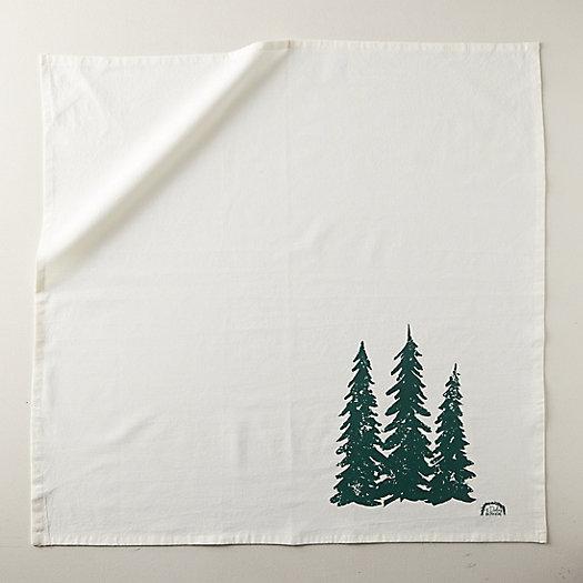 View larger image of Turkish Cotton Tea Towel, Evergreens