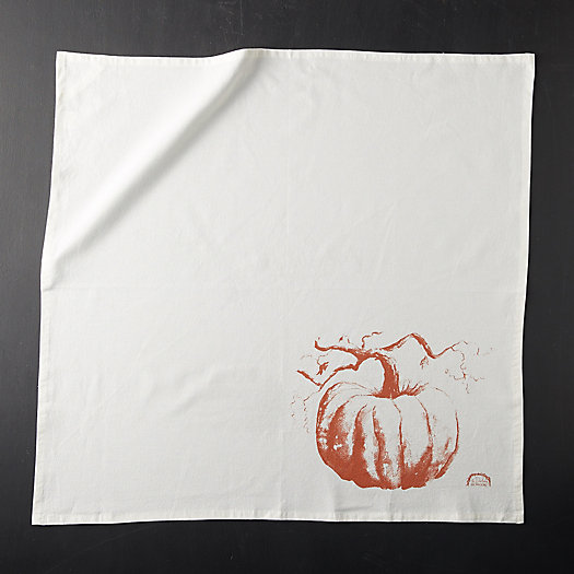 View larger image of Turkish Cotton Tea Towel, Pumpkin