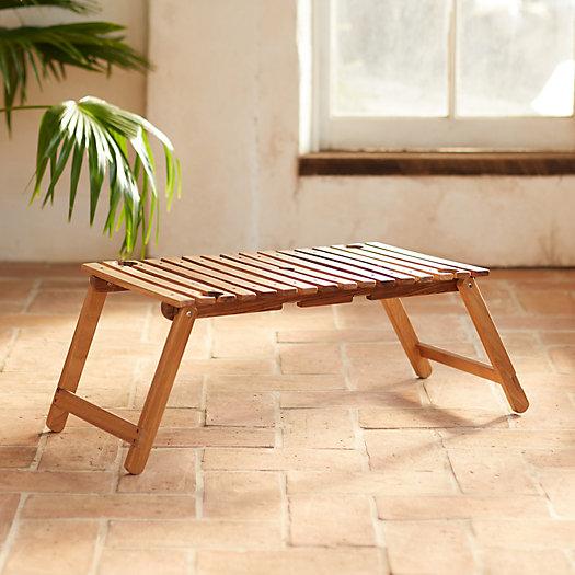 View larger image of Teak Folding Table