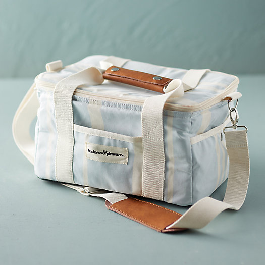 View larger image of Stripe Canvas Cooler Duffel