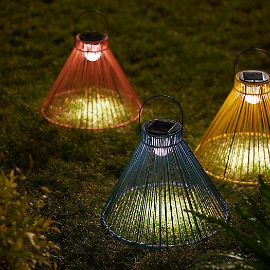 View larger image of Hanging Outdoor Solar Lantern