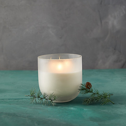View larger image of Linnea's Lights Extra Large 3-Wick Candle, Forest Fir