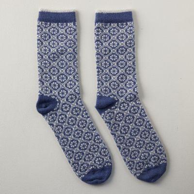 Women's Medallion Socks