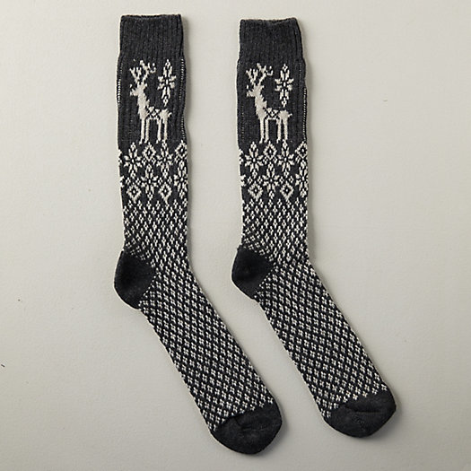 View larger image of Men's Reindeer Socks