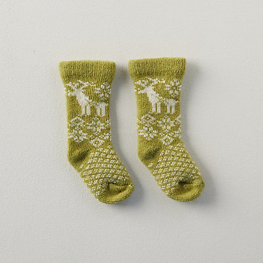 View larger image of Baby Reindeer Socks