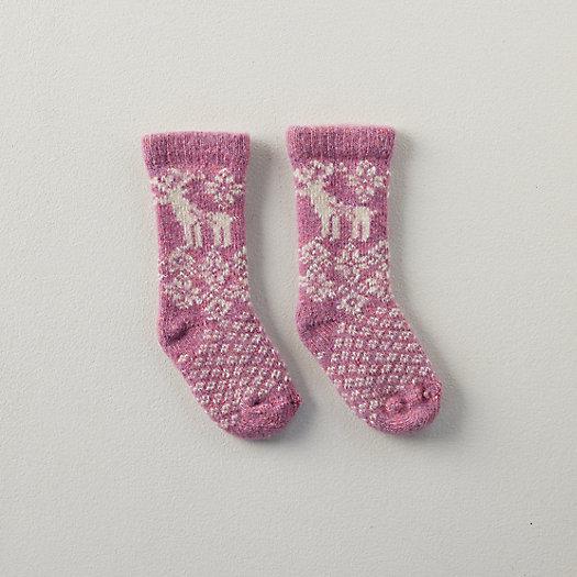 View larger image of Baby Reindeer Socks