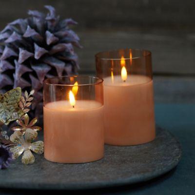 Flameless LED Candle, Amber