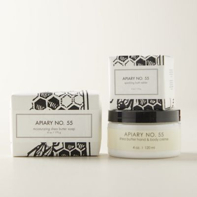 Apiary 55 Botanical Bath + Body Gift Set