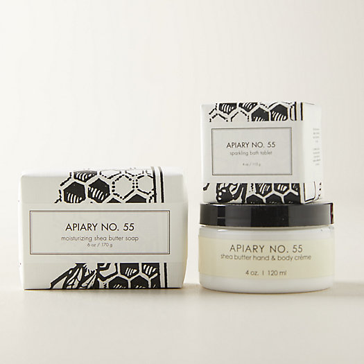 View larger image of Apiary 55 Botanical Bath + Body Gift Set