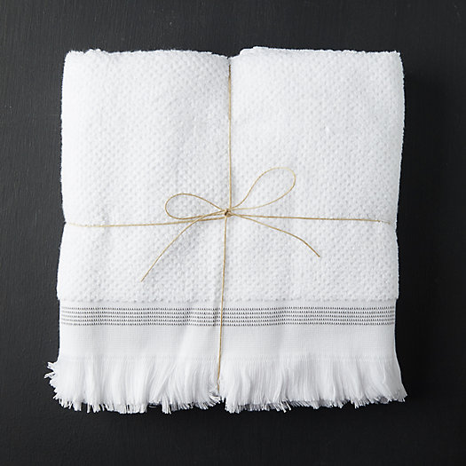 View larger image of Organic Cotton Bath Towels, Set of 2