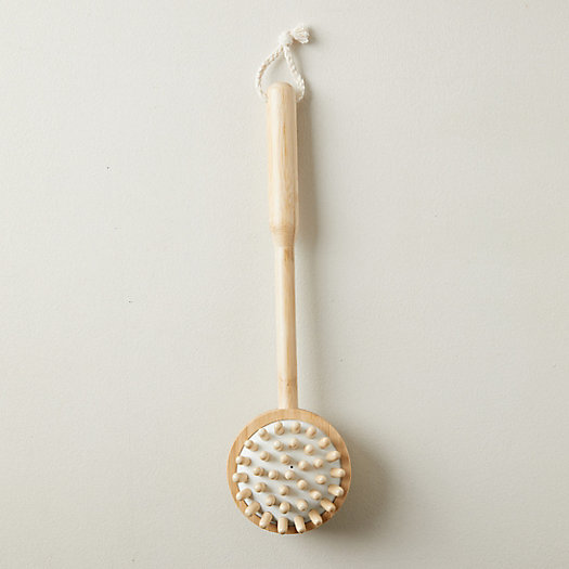 View larger image of Bamboo Massager Brush