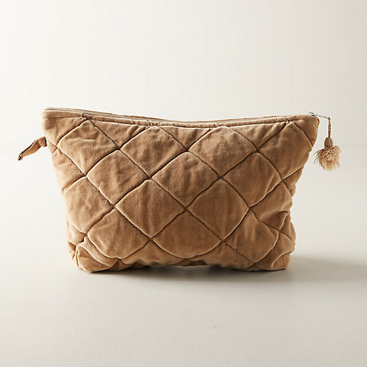 View larger image of Quilted Velvet Pouch