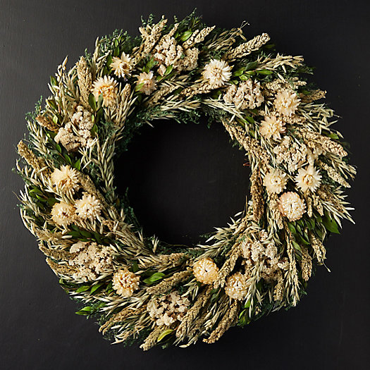 View larger image of Snowy Harvest Preserved Wreath