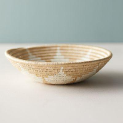 Sisal + Sweet Grass Bowl