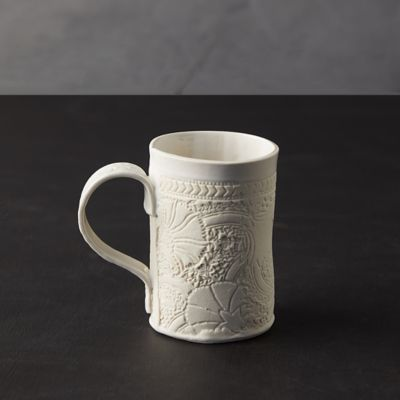 Source and Tradition Block Print Mug