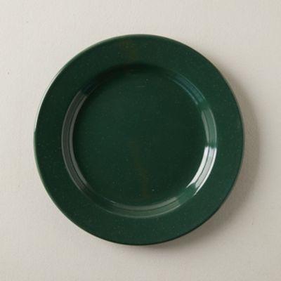 Speckled Enamel Dinner Plate