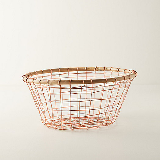View larger image of Copper Wire Storage Basket