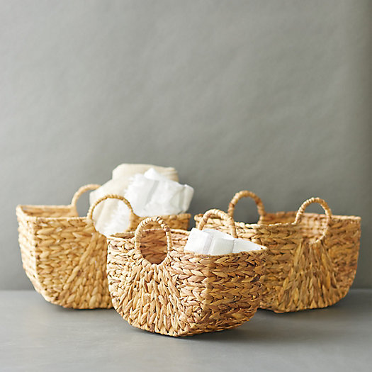 View larger image of Woven Two Handle Basket