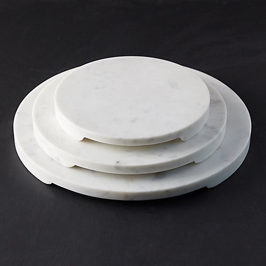 View larger image of Footed Marble Serving Board