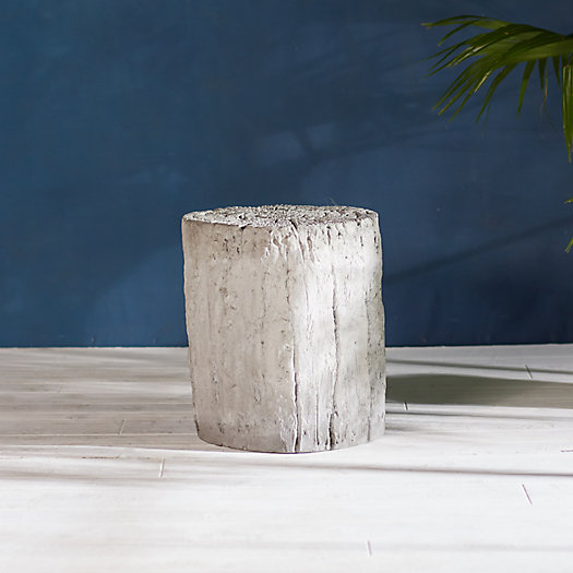 View larger image of Faux Bois Stool, Round