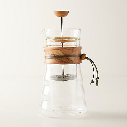 View larger image of Olive Wood French Press