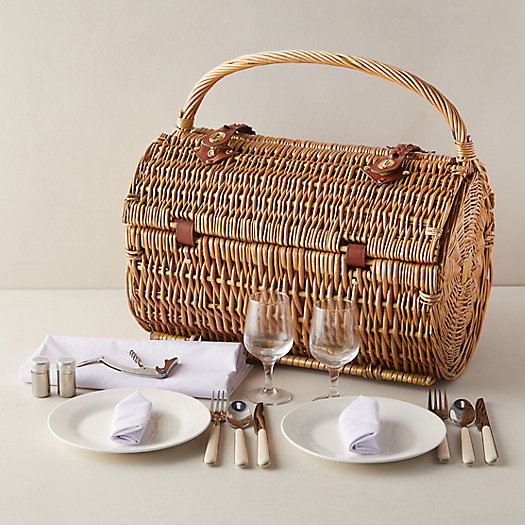 View larger image of Wicker Outdoor Dining Basket