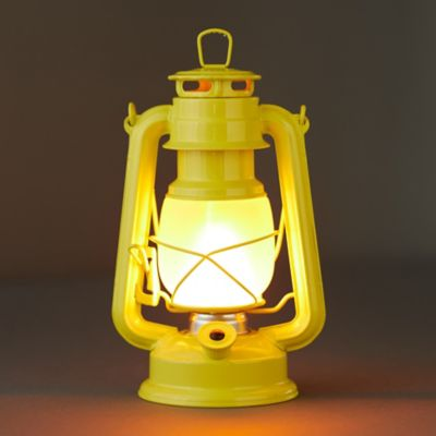 LED Frosted Glass Lantern