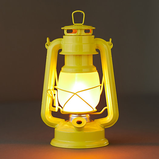 View larger image of LED Frosted Glass Lantern