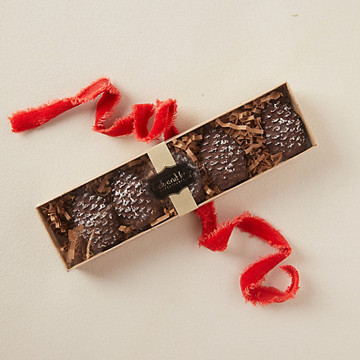 View larger image of Dark Chocolate Pine Cones, Set of 5