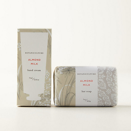View larger image of Botaniculture Almond Milk Hand Soap + Lotion Set