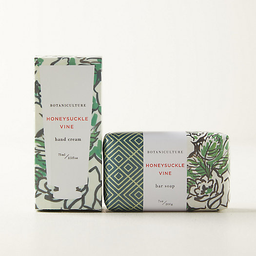 View larger image of Botaniculture Honeysuckle Vine Hand Soap + Lotion Set