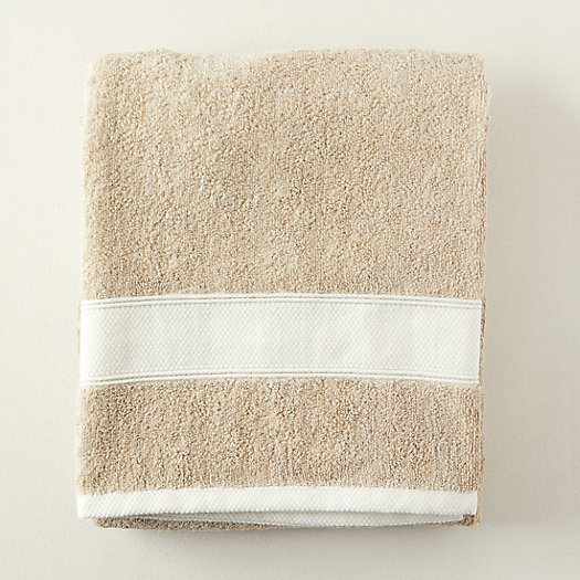 View larger image of Linen Cotton Blend Bath Sheet, Extra Large