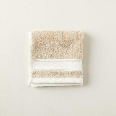 Stripe Linen Wash Cloth