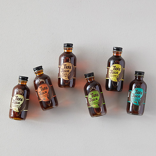 View larger image of Tree Juice Flavored Maple Syrups, Set of 6