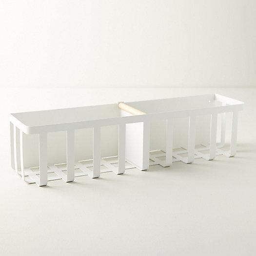 View larger image of Magnetic Steel + Wood Storage Basket
